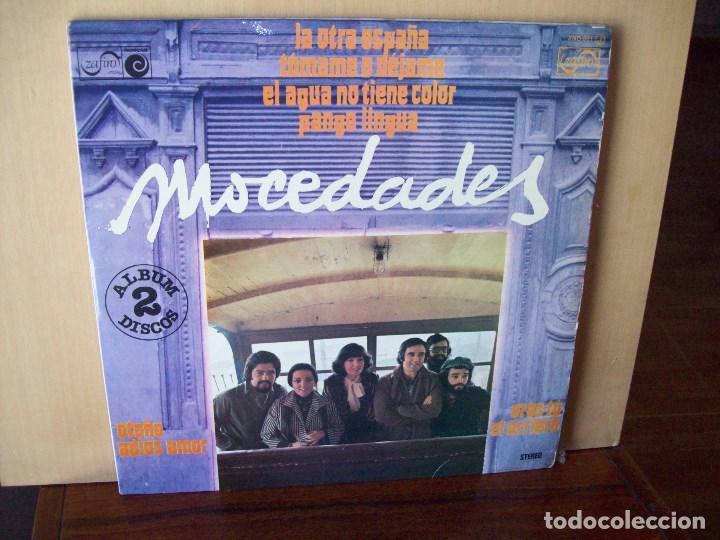 MOCEDADES - DOBLE LP CARPETA ABIERTA (Música - Discos - LP Vinilo - Grupos Españoles de los 70 y 80)