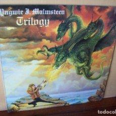 Discos de vinilo: YNGWIE MALSTEEN - TRILOGY - LP 1986. Lote 268913414