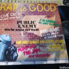 Discos de vinil: RAP IS GOOD LP RECOPILACIÓN FRANCIA. Lote 120064406