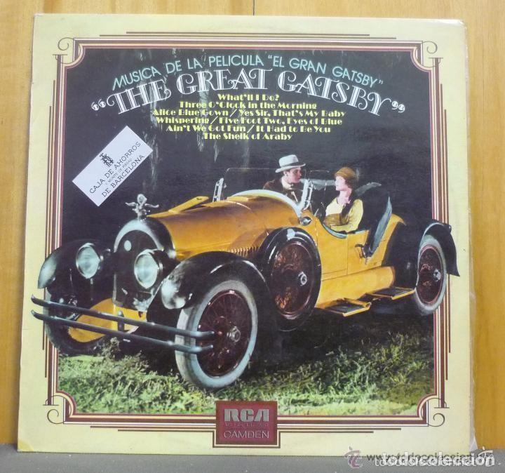 MÚSICA DE LA PELÍCULA EL GRAN GATSBY - THE GREAT GATSBY - LP RCA 1974 (Música - Discos - LP Vinilo - Bandas Sonoras y Música de Actores )