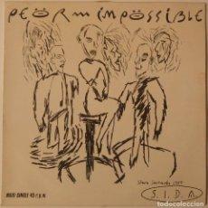 Discos de vinilo: PEOR IMPOSSIBLE..S.I.D.A.(ARIOLA ?1985).SPAIN.. Lote 120072755