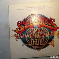 Discos de vinilo: DOBLE LP SGT. PEPPER`S, DE PETER FRAMPTON Y THE BEE GEES, LONELY HEARTS CLUB. Lote 120076679