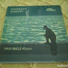 Discos de vinilo: MIKE OLDFIELD - MOONLIGHT SHADOW (VERSIÓN 12'' MAXI-SINGLE) / RITE OF MAN (VIRGIN, 1983) ESPAÑA. Lote 120078359