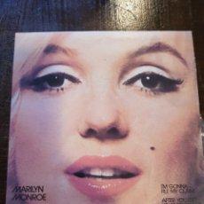 Discos de vinilo: MARILYN MONROE. I'M GONNA FILE MY CLAIM. SINGLE. VINILO. PLANETA. 1982. Lote 120085187