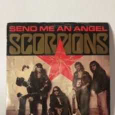 Discos de vinilo: SCORPIONS - SEND ME AN ANGEL - SINGLE. Lote 120087472