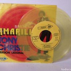 Discos de vinilo: TONY CHRISTIE - IS THIS THE WAY TO AMARILLO. Lote 120094372