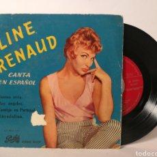Discos de vinilo: LINE RENAUD - LINE RENAUD CANTA EN ESPAÑOL. Lote 120095195