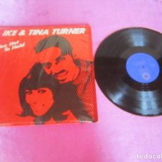 Discos de vinilo: IKE TINA TURNER TOO HOT TO HOLD LP . Lote 120096587