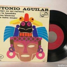 Discos de vinilo: ANTONIO AGUILAR - TE TRAIGO EN MI CARTERA. Lote 120097798