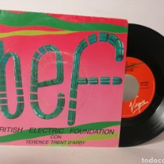 Discos de vinilo: BRITISH ELECTRIC FOUNDATION CON TERENCE TRENT - ITS ALL RIGHT.... Lote 120098976