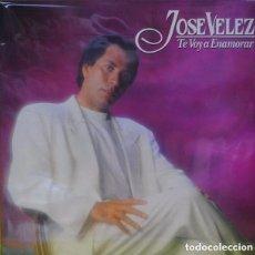 Discos de vinilo: JOSE VELEZ - TE VOY A ENAMORAR - LP SPAIN 1991. Lote 120100927