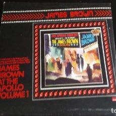 Discos de vinilo: LP JAMES BROWN: AT THE APOLLO VOLUME 1 (EDIC. UK 1963)PRISONER OF LOVE (EDIC. UK 1966). Lote 120102423