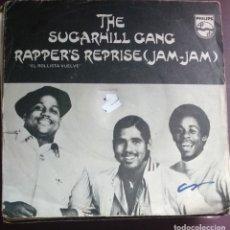 Discos de vinilo: THE SUGARHILL GANG. RAPPER'S REPRISE (JAM - JAM). Lote 119485222