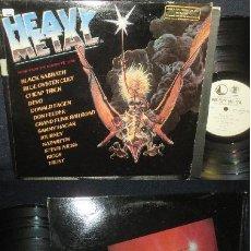 Discos de vinilo: HEAVY METAL SOUNDTRACK 1981, DOBLE LP, RARO, BSO COMPLETA 1ª EDIC ORG PROMOCIONAL, EX. Lote 120123255