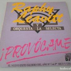 Discos de vinilo: SINGLE 12¨GRABADA SÓLO UNA CARA RAPHY LEAVITT Y ORQUESTA CANTA: OSWALDO DÍAZ - MUESTRA PROMO. Lote 120123511