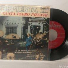 Discos de vinilo: PEDRO INFANTE - YO HE NACIDO MEXICANO. Lote 120123760