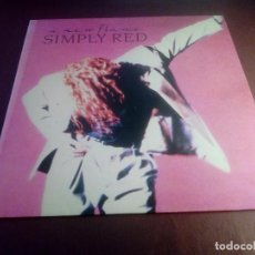 Discos de vinilo: A NEW FLAME SIMPLY RED. Lote 120126295