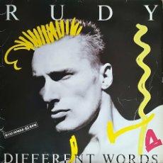 Discos de vinil: RUDY - DIFFERENT WORDS - EMI-ODEON, S.A. - 052 15 6731 6 SPAIN. Lote 120128655