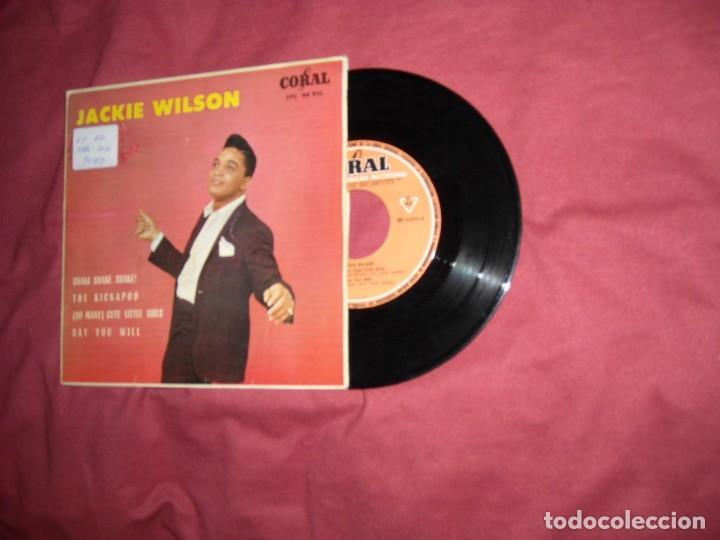 JACKIE WILSON EP SHAKE SHAKE SHAKE! 1963 SPA RARO (Música - Discos de Vinilo - EPs - Funk, Soul y Black Music)