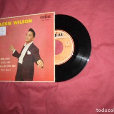 Discos de vinilo: JACKIE WILSON EP SHAKE SHAKE SHAKE! 1963 SPA RARO. Lote 120129739