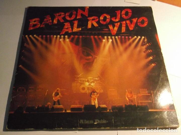 BARON AL ROJO VIVO-DOBLE LP (Música - Discos - LP Vinilo - Otros estilos)