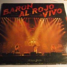 Discos de vinilo: BARON AL ROJO VIVO-DOBLE LP. Lote 120130235