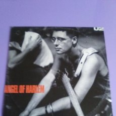 Discos de vinilo: MARAVILLOSO MAXI U2 ( ANGEL OF HARLEM - A ROOM AT THE HEARTBREAK HOTEL - LOVE RESCUE ME )1988.SPAIN. Lote 120133643