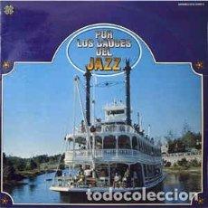 Discos de vinilo: VARIOUS - POR LOS CAUCES DEL JAZZ (2XLP, COMP) LABEL:TELEFUNKEN CAT#: DCS 15068 9 . Lote 120140155