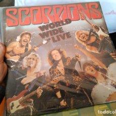 Discos de vinilo: LP DOBLE SCORPIONS WORLD WIDE LIVE . Lote 120142587