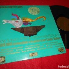 Discos de vinilo: MARIA BOIX&CARLOS USILLOS GUITARRA CANCIONES POPULARES ESPAÑOLAS FEDERICO GARCIA LORCA LP 1971 ZAFIR. Lote 120144563