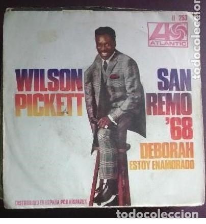 WILSON PICKETT SAN REMO 68 DEBORAH-ESTOY ENAMORADO (Música - Discos - Singles Vinilo - Otros Festivales de la Canción)