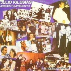 Discos de vinilo: JULIO IGLESIAS, A VECES TU A VECES YO - LP COLUMBIA SPAIN 1982 - (SOLO PORTADA). Lote 120159803