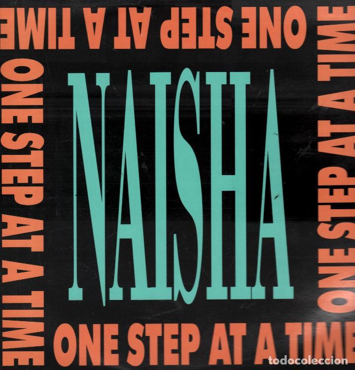 NAISHA - ONE STEP AT A TIME - LP MAXISINGLE GRIND DE 1989 RF-5631 (Música - Discos de Vinilo - Maxi Singles - Pop - Rock Internacional de los 70)