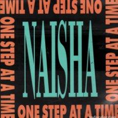 Discos de vinilo: NAISHA - ONE STEP AT A TIME - LP MAXISINGLE GRIND DE 1989 RF-5631. Lote 120160283