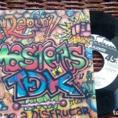 Discos de vinilo: SINGLE (VINILO)-PROMOCION- DE MASTER T DE K AÑOS 80. Lote 120161311