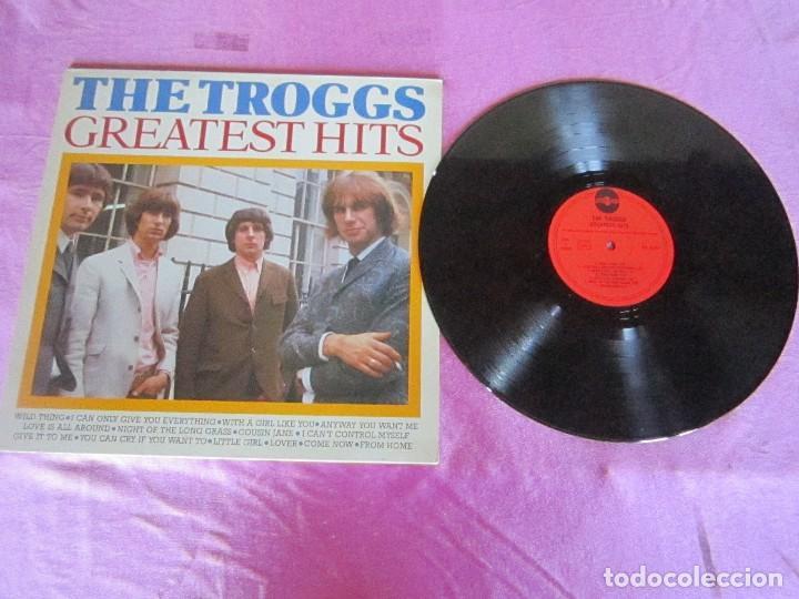 THE TROGGS GREATEST HITS (Música - Discos - Singles Vinilo - Pop - Rock Extranjero de los 50 y 60)
