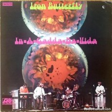 Discos de vinilo: IRON BUTTERFLY : IN-A-GADDA-DA-VIDA [DEU 1973]. Lote 120179471