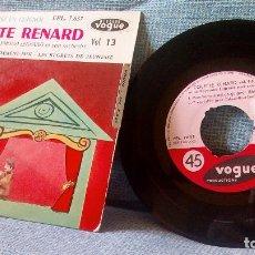 Discos de vinilo: COLETTE RENARD & RAYMOND LEGRAND - MON HOMME EST UN GUIGNOL + 3 ED. FRANCESA VOGUE EPL. 7.637 EP . Lote 120187531