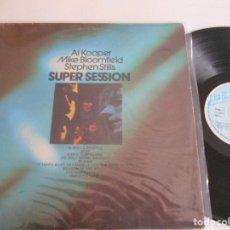 Discos de vinilo: AL KOOPER MIKE BLOOMFIELD STEPHEN STILLS-LP SUPER SESSION-ESPAÑOL 1975. Lote 120196487
