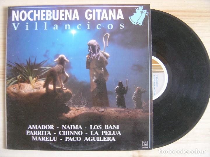 VILLANCICOS NOCHEBUENA GITANA - LP 1990 - HORUS (Música - Discos - LP Vinilo - Flamenco, Canción española y Cuplé)