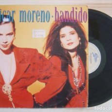 Discos de vinilo: AZUCAR MORENO - BANDIDO - LP 1990 - EPIC. Lote 120231487