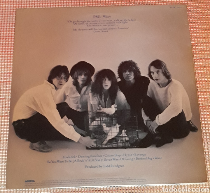 Discos de vinilo: PATTI SMITH GROUP - WAVE - Foto 2 - 120236359