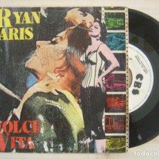 Discos de vinilo: RYAN PARIS - DOLCE VITA - SINGLE PROMOCIONAL ESPAÑOL 1983 - CBS. Lote 120244835