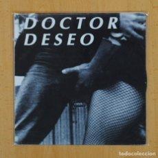 Dischi in vinile: DOCTOR DESEO - DESDE EL CENTRO DEL HURACAN / FUGITIVOS DEL PARAISO - SINGLE. Lote 120250614