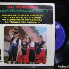 Discos de vinilo: EL TORDIN ASTURIANADAS VOL 2 EP HISPAVOX 1963 HH 16-405 ASTURIAS. Lote 120255023