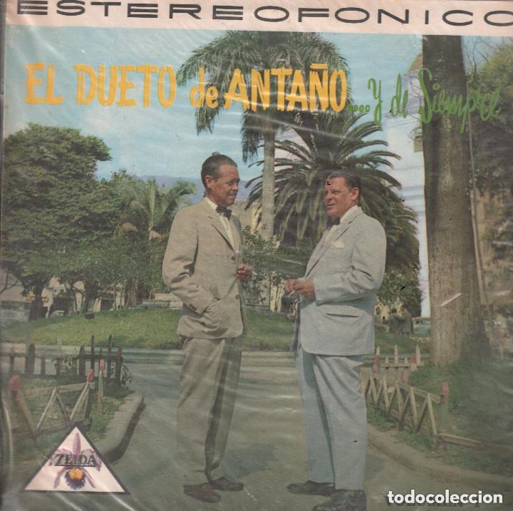 EL DUETO DE ANTAÑO .. Y DE SIEMPRE / LP ZEIDA RF-5515 (Música - Discos - LP Vinilo - Grupos y Solistas de latinoamérica)