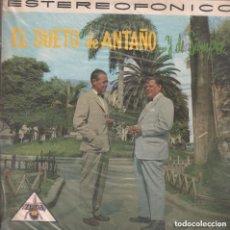 Discos de vinilo: EL DUETO DE ANTAÑO .. Y DE SIEMPRE / LP ZEIDA RF-5515. Lote 120260835