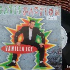 Discos de vinilo: SINGLE (VINILO) DE VANILLA ICE AÑOS 90. Lote 120276347