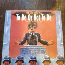 Discos de vinilo: MEL BROOKS. TO BE OR NOT TO BE (THE HITLER RAP). SINGLE. VINILO. ISLAND. 1983. Lote 120276716