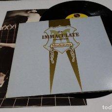 Discos de vinilo: MADONNA- THE IMMACULATE COLLECTION-DOBLE LP 1990 + ENCARTES. Lote 120305963